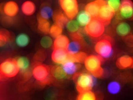 Blurred christmas lights background  Defocused Light Stock Photo - 15605827