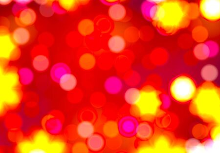 Blurred christmas lights background  Defocused Light Stock Photo - 15844176