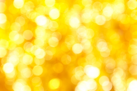 blured: Abstract Christmas background of silver and gold chain