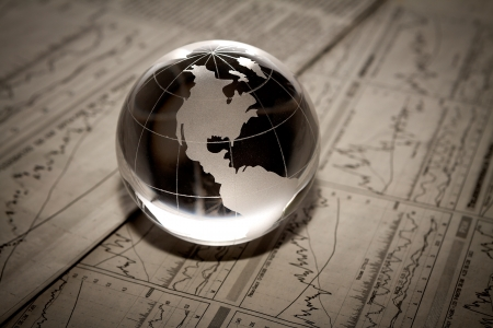 財務報告書の世界 写真素材 - 18011768