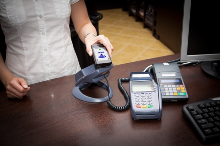 NFC - Near field communication   mobile payment photo