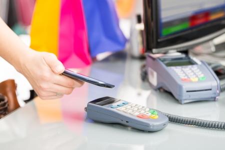 NFC - Near Field Communication, mobiel betalen