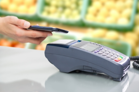 NFC - Near field communication, mobile payment  photo