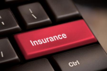 Hot key for insurance photo
