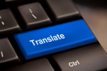 Translate Computer Key In Showing Online Translator photo