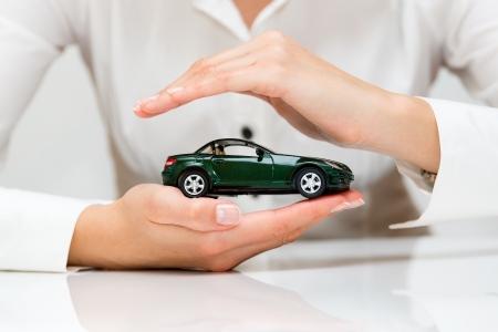 védelme: Protection of car üzleti koncepció Stock fotó