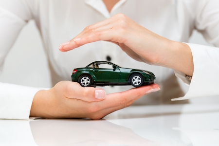 regard: Protection of car  Business concept  Stock Photo