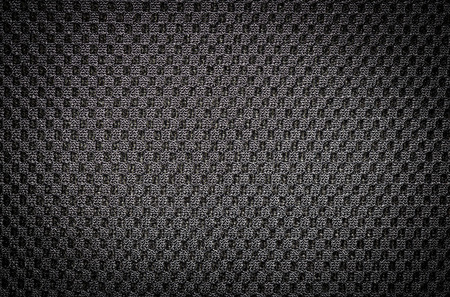 Black fabric for backpack back photo