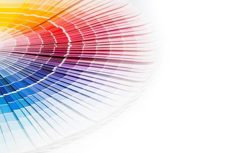 Muestras de Color reservar colores del arco iris de la muestra de catálogo Foto de archivo - 27356813