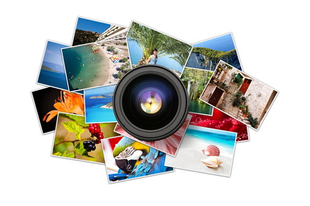 flickr: A pile of photographs with your empty space