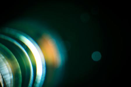 chromatic color: Chromatic aberration in the lens  Macro concept