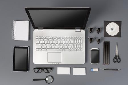 Responsive Web Design Brand Branding Template Designers - Stock Image Stock Photo