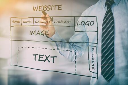 웹 개발 디자인 디자이너 서 컨텐츠 - 재고 이미지 스톡 콘텐츠
