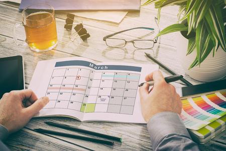 termine: Kalender Ereignisse planes Organisation Organisieren