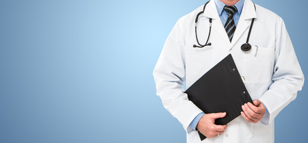 doctor doctoring clinic medicine cardiologist patient health background concept - stock image