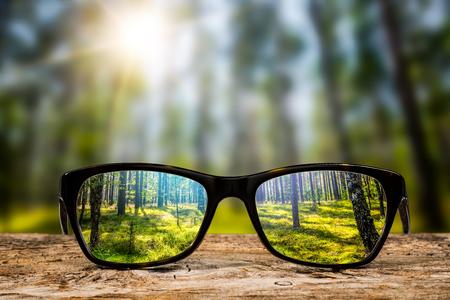 안경 눈 눈부심 비전 시각화 눈 모양 반성 눈 모양 비전 선명한 안경 일광 안경 투명한