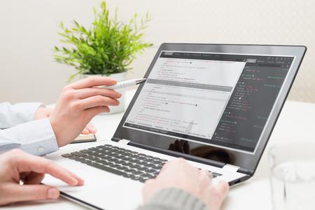 team software startup school academy developer programmer website office people business websites background group technology concept - stock image