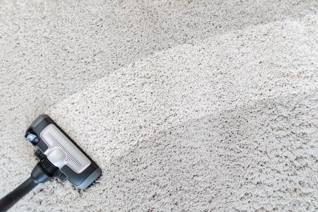 Nettoyage de l'aspirateur de tapis. Fond de texture de tapis.