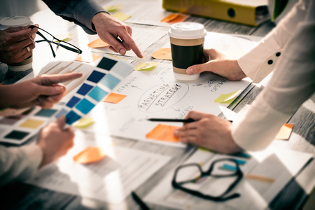 Brainstorming Brainstorm Business People Design Planning Banque d'images
