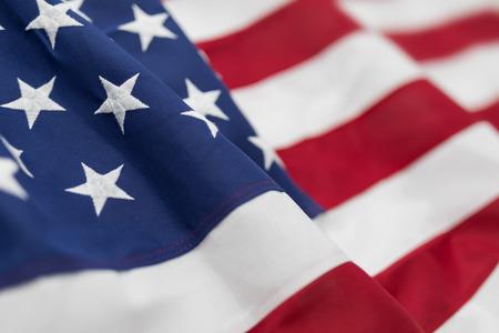 Drapeau américain pour Memorial Day, 4 juillet ou Jour du Travail Banque d'images