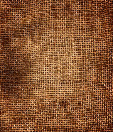 linen bag: Old dirty Potato Sack