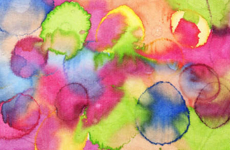Colorful Silk Texture Stock Photo