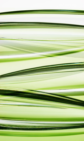 Abstract Green Glas