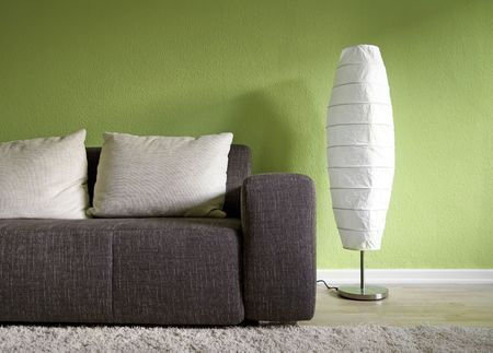 Green living room Stock Photo - 5195065