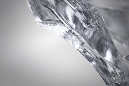 Edge of a broken glass piece.