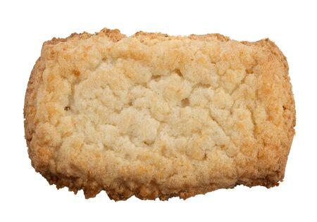 Square coconut cookie Stock Photo