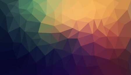 Gradient abstract geometric triangular polygon style illustration graphic background