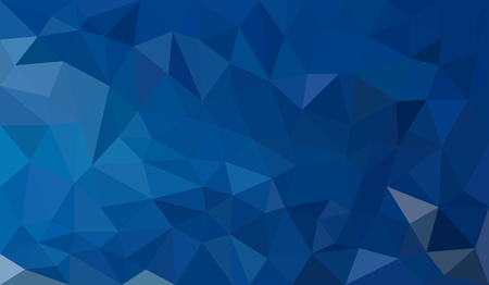 blue gradient: Blue Gradient abstract geometric triangular polygon style illustration graphic background