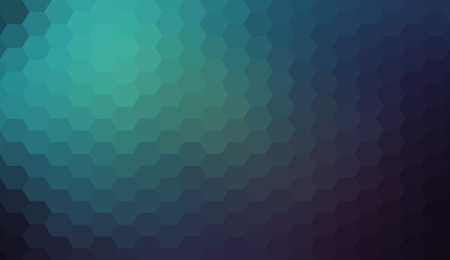 gradient: Blue black abstract geometric gradient hexagon pattern background Illustration