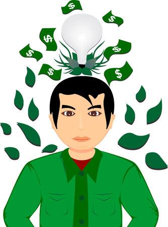 agri: business agriculture Illustration