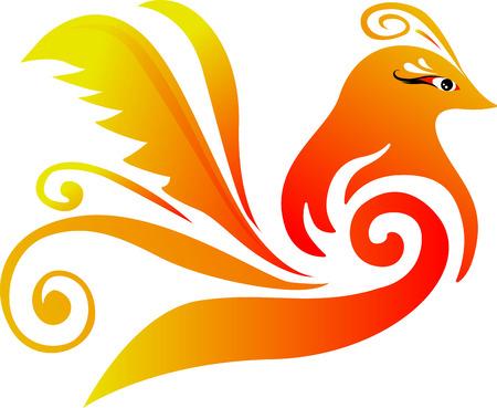 Einzelne Vogel-Logo Standard-Bild - 44559685