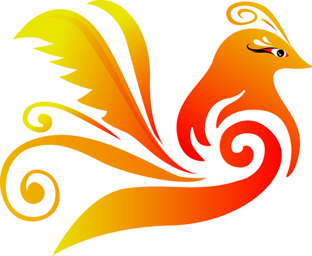 single bird logo