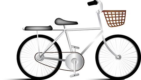 single object: Bicycle vector single object