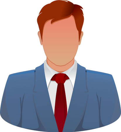 business man vector: business man vector icon Illustration