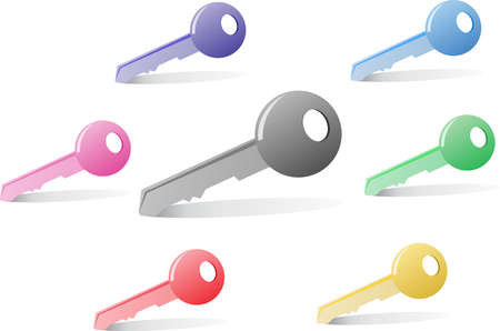 oldfield: Key all color abstract colorful Illustration