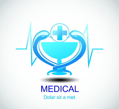 colorfully: Medical pharmacy design template.- vector illustrator