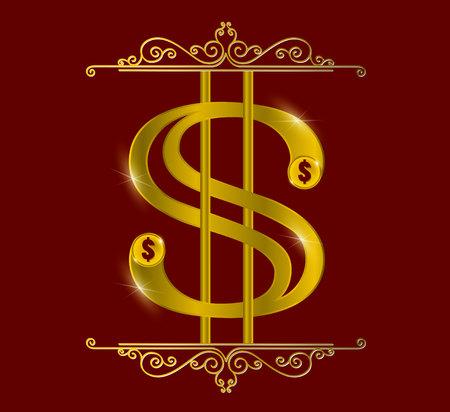 gold: dollar  gold