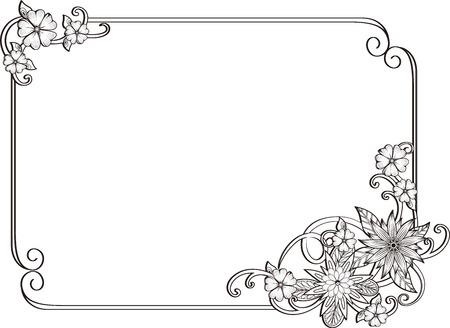 Corner gold.Page decoration. Decorative frame floral elements, Set of corners and borders.flower corner linear decorative elements