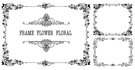 Vintage retro frame certificate background design template Stock Vector - 128962439