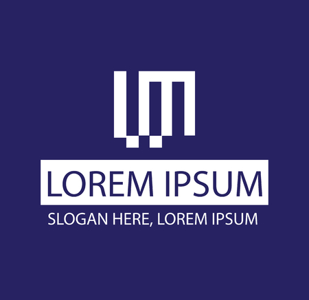 ml: ML Logo Concept Design. AI 10 SUpported.