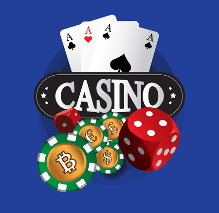 Casino Coin Design, AI 10 Supported.