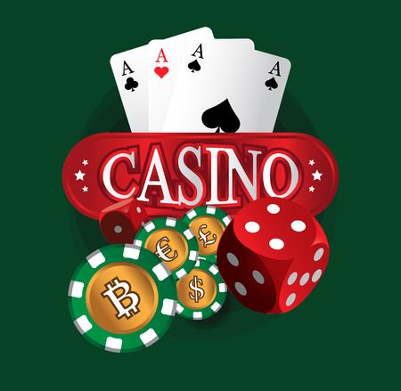 token: Casino Coin Design, AI 10 Supported.