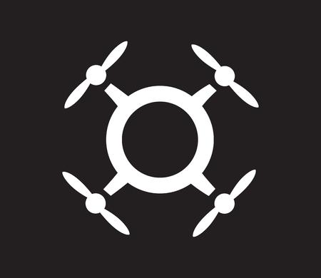 Drone Logo Concept Design. AI 10 Supported.