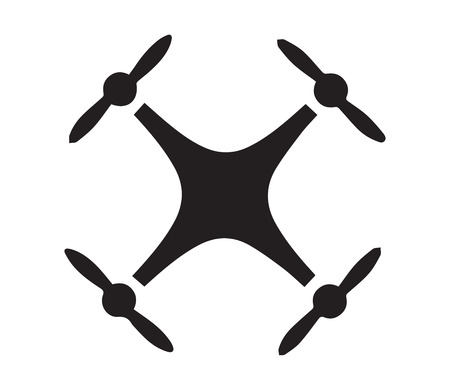 Drone Logo Concept Design. AI 10 Supported.