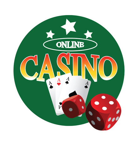 Casino Design Concept. AI 10 supported. Illustration