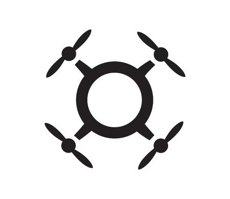 Drone Logo Konzept Design. AI 10 unterstützt.